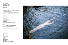10 - Emily Newman, Orchard Steward, Wild swimming in the river bordering the orchard