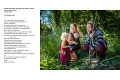 13 - Maartje Verhaagen, Edd McDermott, Mara and Ewan at The Children's Fire Group