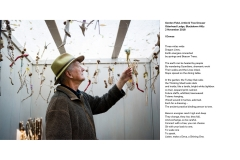 22 - Gordon Field, Artist & Tree Dowser in 'The Thinking Shed' with Totems